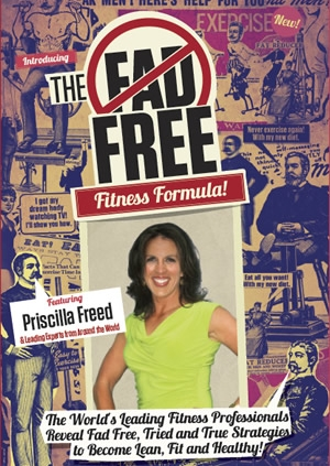 The Fad Free Fitness Formula cover-Priscilla Freed