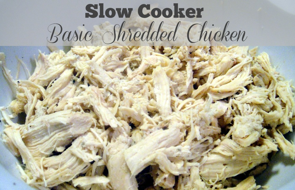 Super Simple Slow Cooker Chicken | Priscilla Freed ...